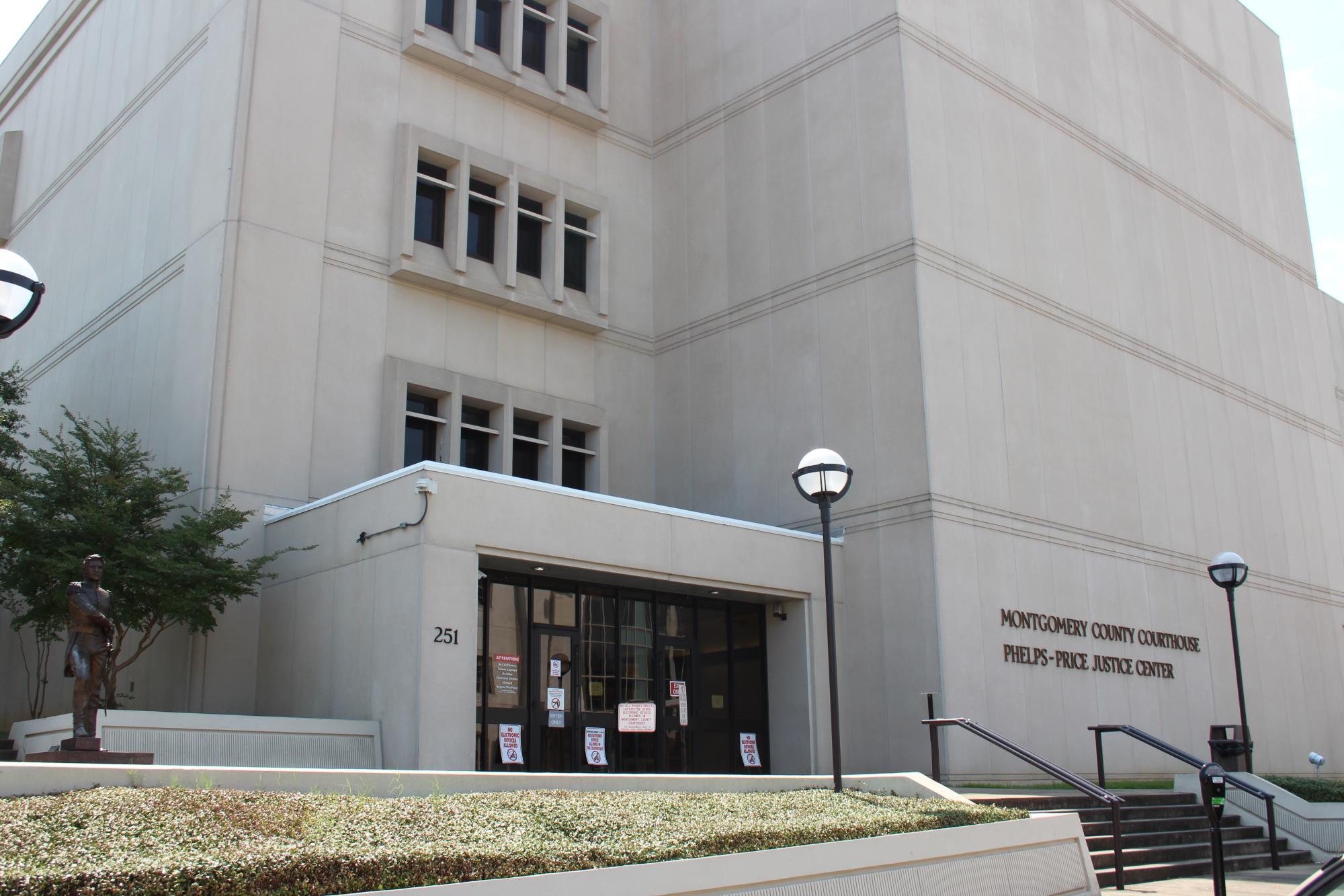 Montgomery County Courthouse Price Phelps Justice Center A County Office Montgomery County Al